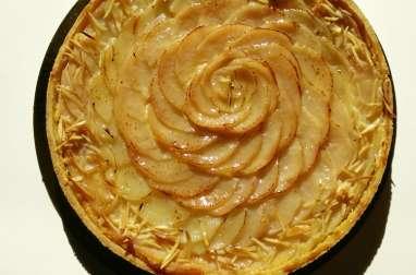 La tarte amandine aux poires