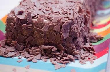 Gâteau au chocolat et aux spéculoos