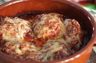 Osso Bucco de dinde tomate et chorizo gratiné au Comté