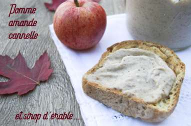 Beurre de pommes végétal au sirop d'érable