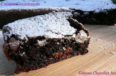 Gâteau Chocolat Avocat