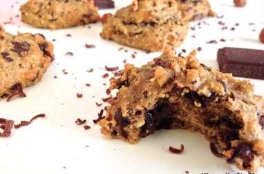 Biscuit aux noisettes et pépites de chocolat