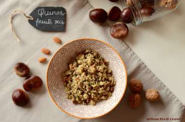 Salade de quinoa – fruits secs