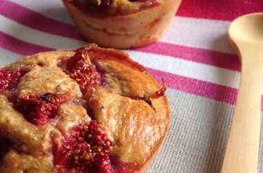 Muffin à la figue fraiche et aux amandes