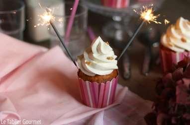 Cupcakes à l'abricot et au chocolat blanc