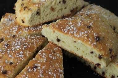 English scones pépites chocolat