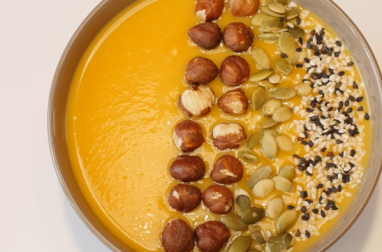 Soup bowl courge butternut