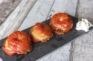 Tomates farcies végétaliennes
