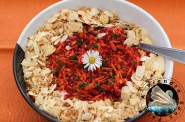Salade de carottes aux agrumes