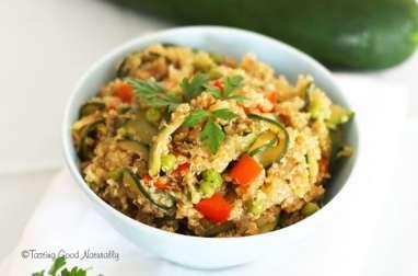 Quinoa aux légumes d'été