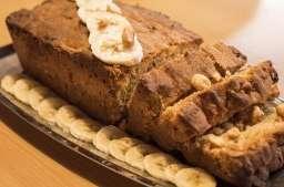 Cake banane et beurre de cacahuète