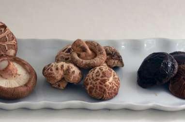 Cuisson lente de shitaké au shoyu (tamari)