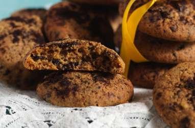 Biscuits noix et chocolat