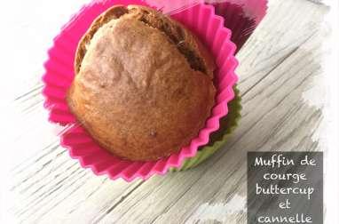 Muffin de buttercup et cannelle