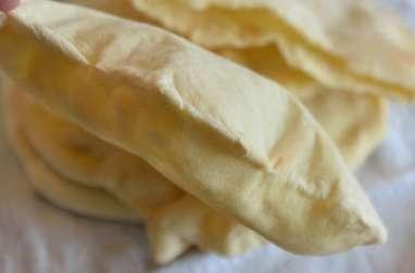 Pain pita, pain plat du Moyen-Orient