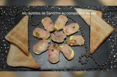 Foie gras maison à l'Armagnac, ananas, papaye