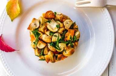 Courge spaghetti marasme des oréades et autres champignons