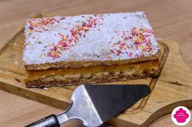 Gâteau au nougat et aux noisettes