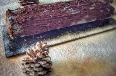 Buche de Noël chocolat - orange