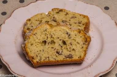 Cake aux noix et amandes