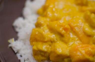 Curry de potimarron à la crème de coco