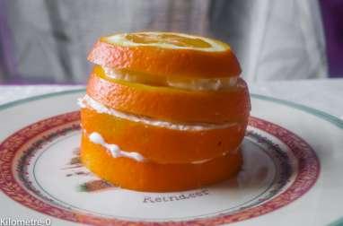 Millefeuille d'oranges