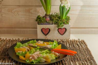 Salade de raie à l'orange