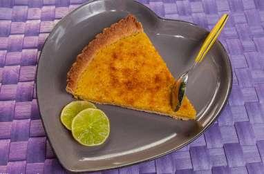 Tarte citron amandes