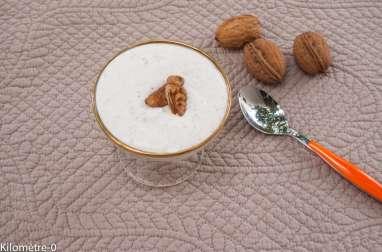 Mousse au noix