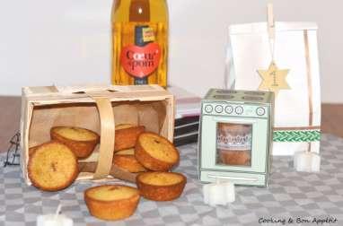 Mini-cakes pétillants