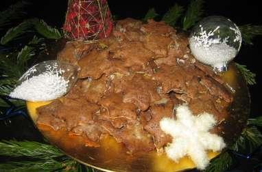 Bredele alsaciens - Etoiles au chocolat
