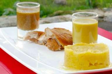 Lapin sauce au cidre à la crème de cacahuète
