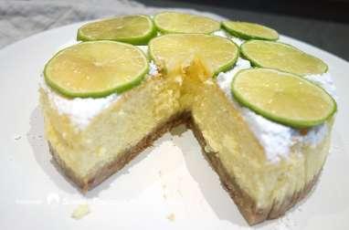 Cheesecake au citron vert