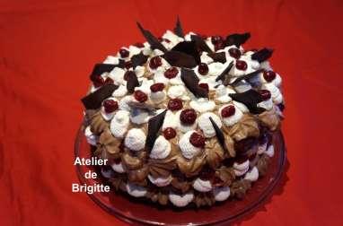 Layer cake Forêt Noire