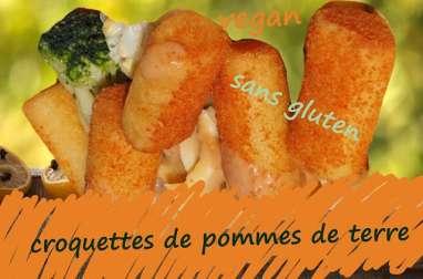 Croquettes de pommes de terre épicées, au fromage et fines herbes
