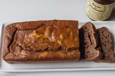 Gâteau du matin à la compote de pruneaux