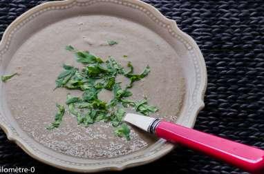 Soupe de champignons au sarrasin