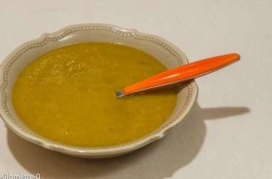 Soupe de brocolis aux carottes