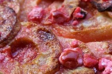 Pralines rose et tarte aux pommes