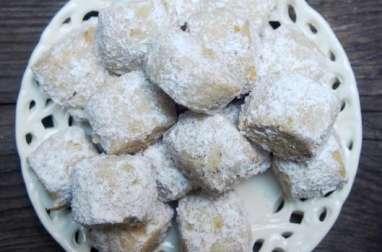 Biscuits à la vanille.