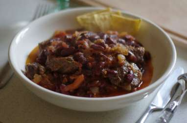 Chili de boeuf, basses calories, sans gluten