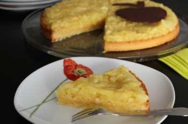 Tarte aux pommes relookée de Florent Cantaut