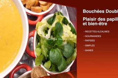 Potage « rééquilibrage alimentaire » aux fruits et légumes