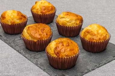 Muffins chorizo emmental
