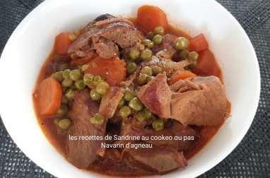 Navarin d'agneau petits pois, carottes