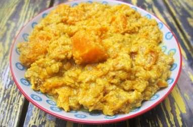Curry de potiron