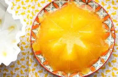 Gelée à l'orange et au gin
