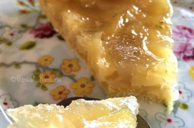 La tarte à l'ananas super facile