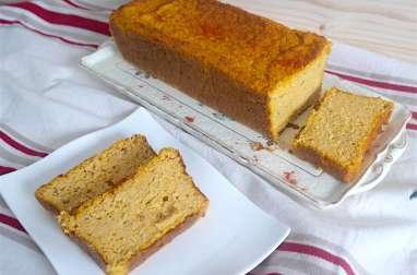 Cake de butternut au fromage et son d'avoine