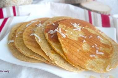 Pancake avoine et farine de coco